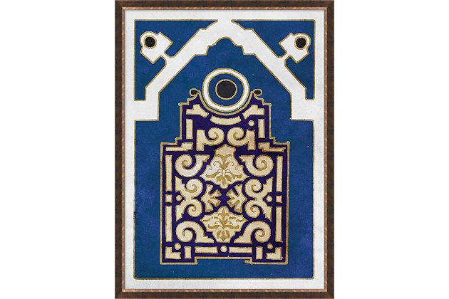 Giclee Blue Garden Wall Art, , large