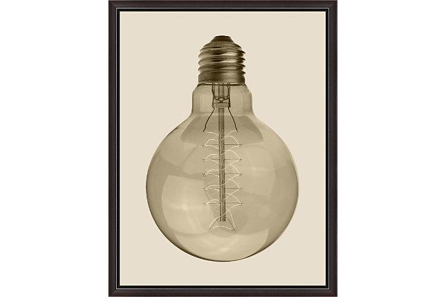 Giclee Vintage Bulb Wall Art, , large