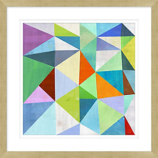 Giclee Colorful Angles Wall Art, , large