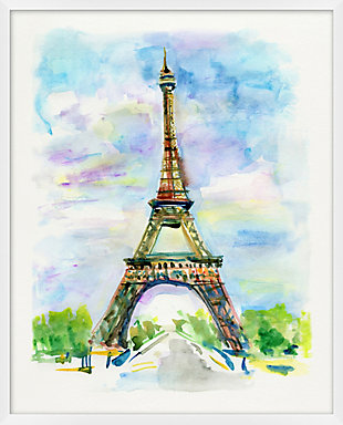 Giclee Eiffel Tower Wall Art, , large