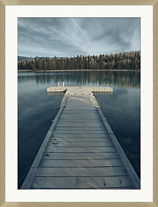 Giclee Lake Dock Wall Art, , rollover