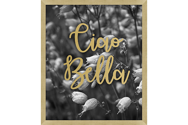 Giclee Ciao Bella Wall Art, , large