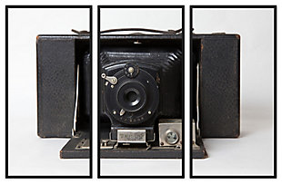 Giclee Camera Triptych Wall Art, , large