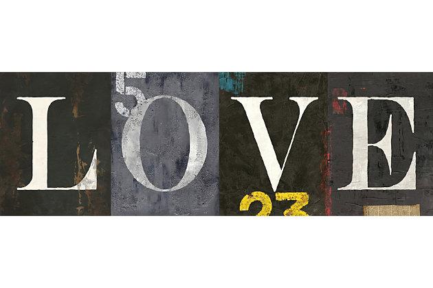 Giclee Love Wall Art, , large