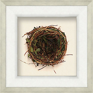 Shadowbox Honeysuckle Nest Wall Art, , large