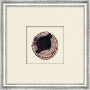 Shadowbox Black Agate Slice Wall Art, , large