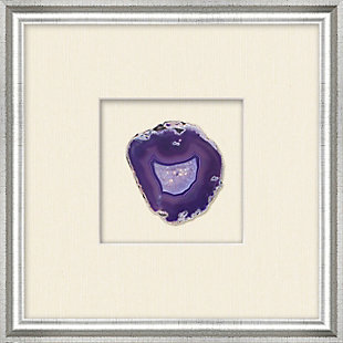 Shadowbox Purple Agate Slice Wall Art, , large