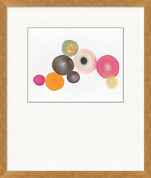 Giclee Sorbet Dots Wall Art, , large
