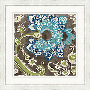 Giclee Flower Patterned Wall Art, , large