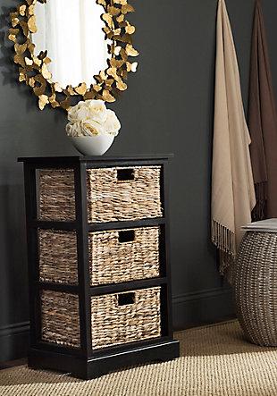 Three Tiered Basket Storage Shelf, , rollover