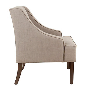 Classic Swoop Arm Accent Chair, , large