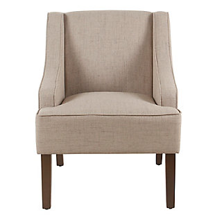 Classic Swoop Arm Accent Chair, , rollover