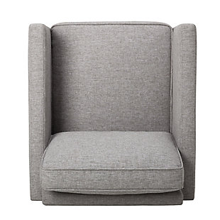Swivel Base Modern Accent Chair, , large
