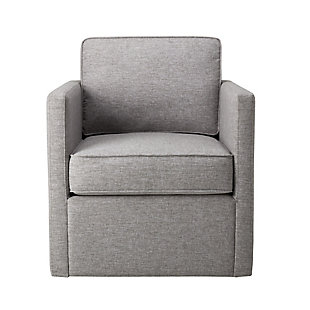 Swivel Base Modern Accent Chair, , rollover