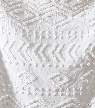 Tufted Chenille Throw, , rollover