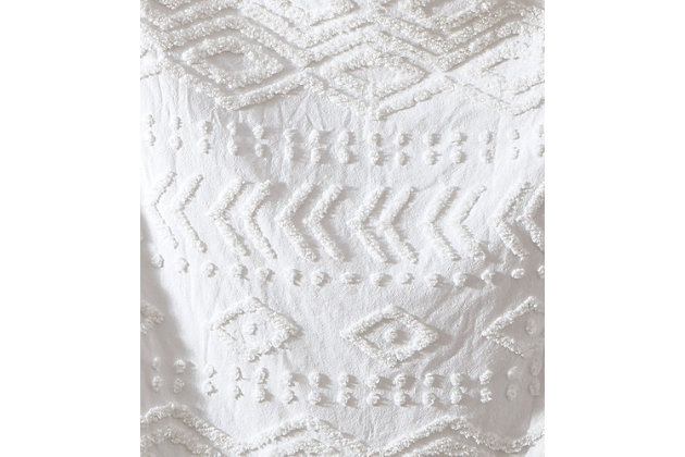 Tufted Chenille Throw, , large