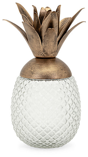 Lupe Small Mauna Lidded Decorative Canister, , large