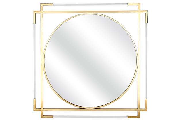 Letic Verona Acrylic Wall Mirror, , large