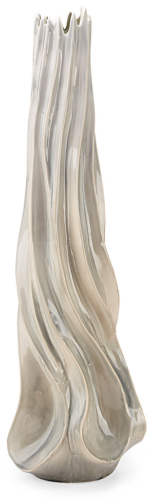 Ceramic Coraline Large Oversized Floor Vase, , large