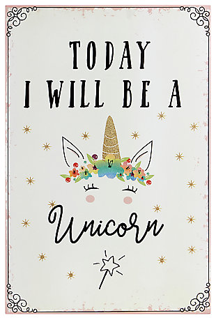 Unicorn Wall Decor, , large