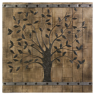 Tree of Life Wood Wall Panel, , large