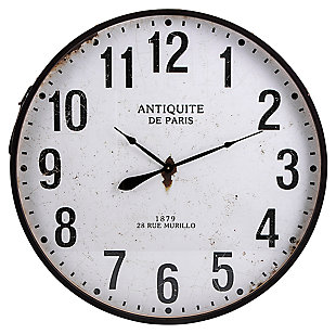 Lucy Chestnut Wall Clock, , large