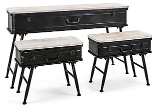 Kanna Console with accent tables (Set of 3), , large