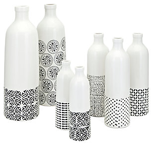 Ceramic Bottles (Set of 7), , rollover
