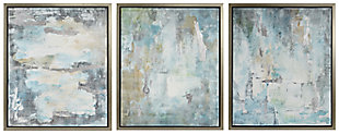 Isla Genevere Framed Oil Painting (Set of 3), , rollover