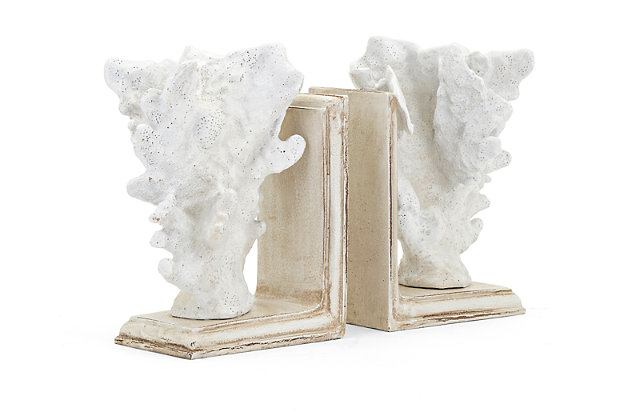 Sea Coral Bookends (Set of 2), , large