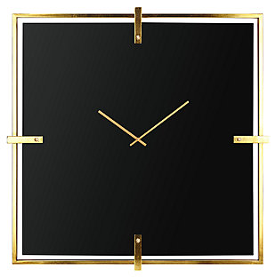 Tilton Glass Wall Clock, , large