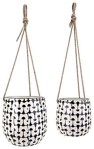 Zinco Hanging Planters (Set of 2), , rollover