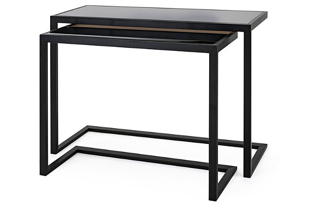 Xander Darby Console Tables (Set of 2), , large