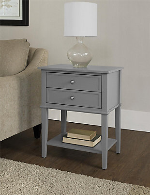 Nia Cottage Hill Accent Table with 2 Drawers, , rollover