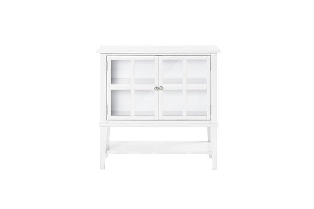 Isla Cottage Hill 2 Door Storage Cabinet, White, large