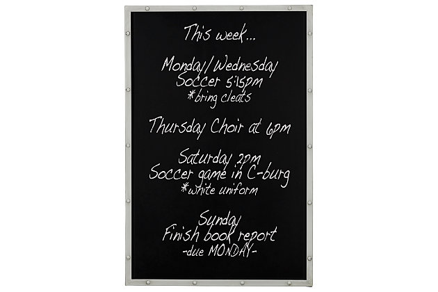 Home Accents Chalkboard Wall Art