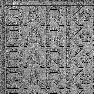 Dog Bowl Aqua Shield Bark Bark Pet Feeding Mat, Medium Gray, large