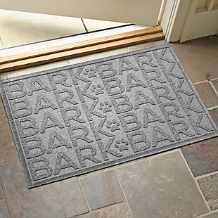 Dog Bowl Aqua Shield Bark Bark Pet Feeding Mat, Medium Gray, rollover