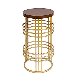 Adna Round Accent Table, , large