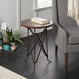 Bor Tripod Accent Table, , rollover
