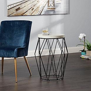 """Cadenita 26"""" Mid-century Modern Wire Basket Accent Table, , rollover"""