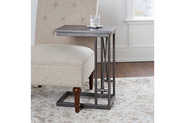 Derby Industrial Collection C Table, , large