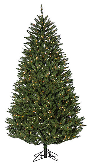 Decorative 7.5' New England Pine Tree, , large
