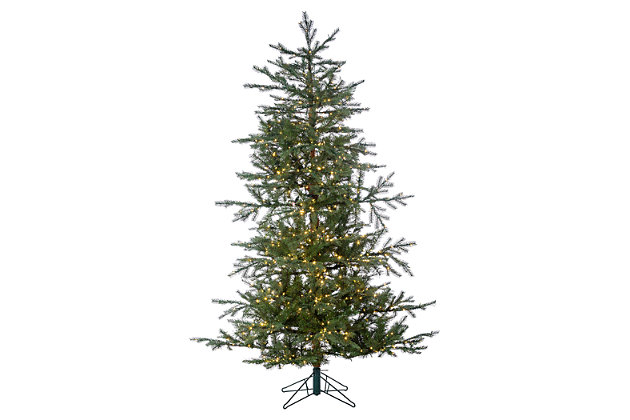 Decorative 6.5' Pre-Lit Portland Pine Tree, , large