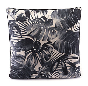 Modern Jungle Print Pillow, , rollover