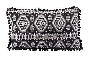 Modern Tribal Print Pillow, , rollover