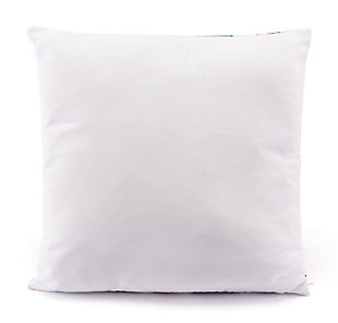Modern Feather Print Pillow, , large