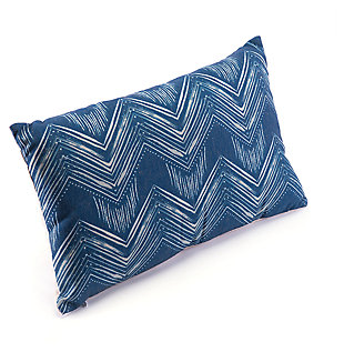 Modern Ikat Pillow, , large