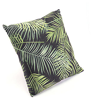 Modern Tropical Print Pillow, , large