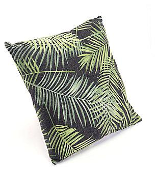 Modern Tropical Print Pillow, , large